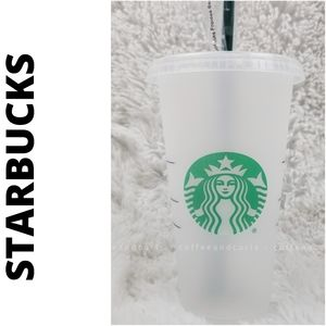 Starbucks Reusable Frosted Venti Cup/Tumbler 24oz